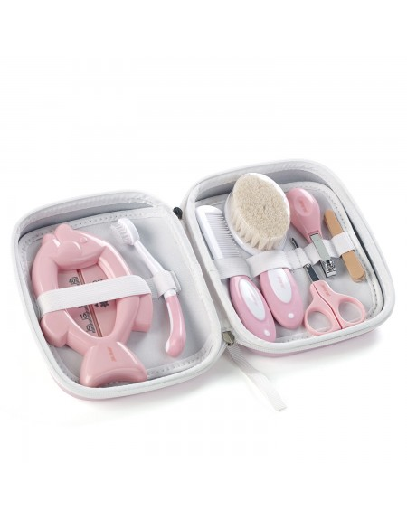 Hygiene set with toilet bag Boho Pink