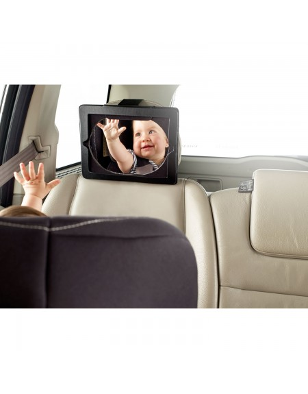 Tablet and safety mirror