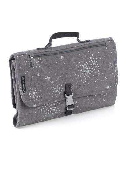 Changing Mat Pocket Bag Grey Land