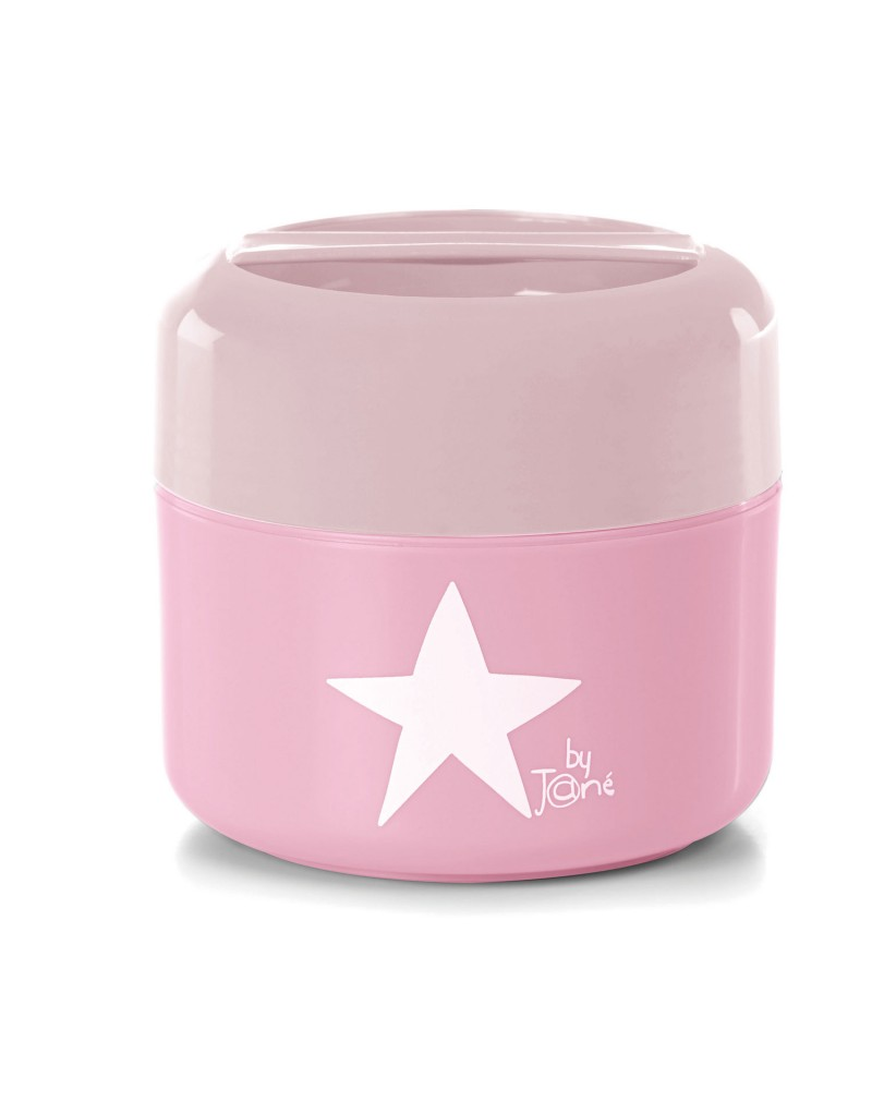 Plastic Food Container Boho Pink